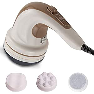 LifelongLL27 Electric Handheld Full BodyMassager Reduces Weight and Fat, Brown