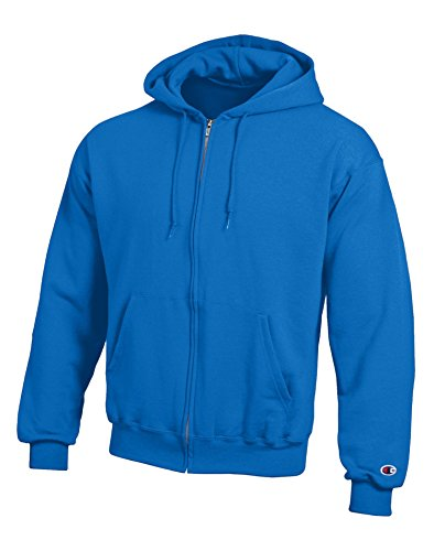 Champion Double Dry Action Fleece Full Zip Hood,DARK-GREEN,XX-Large (Shorts Grün Champion Mesh)