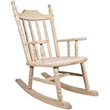 mecedora madera silla lactancia bebe mecedora pino