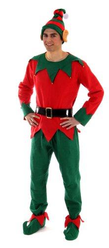 Costume da elfo per adulti (uomo) - 1 pezzo, Uomo: medio
