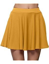 abf8d8655 Amazon.es: Amarillo - Faldas / Mujer: Ropa