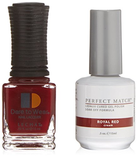 LeChat Perfect Match UV/LED Nail Gel and Polish - royal red, 1er Pack (1 x 0.015 kg)
