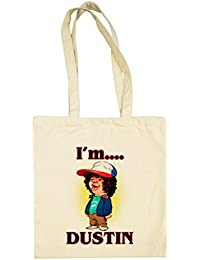 Bolsa de tela Stranger Things I Am Dustin