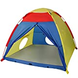 WolfWise Play Tent for Children 4 Kids Indoor Outdoor Use L59 x W59 x H47inch