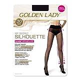 Goldenlady Damen Halterlose Strümpfe Mysecret Silhouette 30, 30 DEN, Transparent (Melon 001A), Small (Herstellergröße: 2 – S)