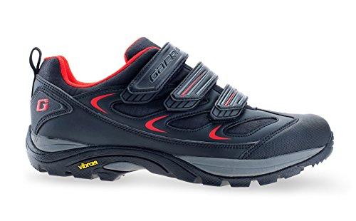 Gaerne G.Rinta grigio MTB scarpe da trekking con suola Vibram rosso, Gaerne Größe:38;Gaerne Farbe (+Size!):Red