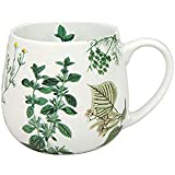 Könitz My Favourite Tea Kräuter Kuschelbecher, Becher, Tasse, Kaffeetasse, Bone China, 420 ml, 11 7 343 2135