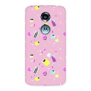 Cute Candy Fly Back Case Cover for Moto X 2nd Gen