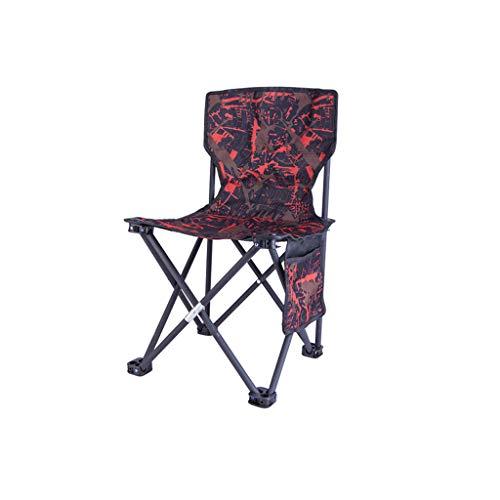Xxw lamp Outdoor Klappstuhl Strand Camping Freizeit Stuhl Tragbare Angeln Stuhl Doppelschicht Verstärkung