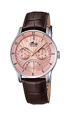 Lotus hombre reloj de pulsera analógico cuarzo piel 18216/3 de Lotus