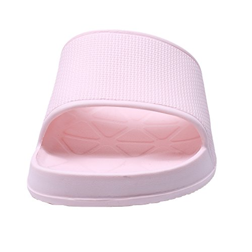 WILLIAM&KATE Hausschuhe für Frauen im Sommer Casual Anti-Rutsch-Hausschuhe Indoor-Boden Sandale Bad Slipper Rosa