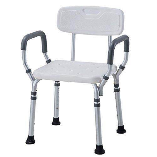 Siège de Douche Chaise de Salle de Bain avec accoudoir Chaise Pliante pour Personnes âgées Chaise de Bain pour Enfant Chaise de Bain