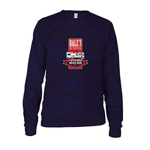 Dale's Walker Tours - Herren Langarm T-Shirt, Größe: XXL, dunkelblau
