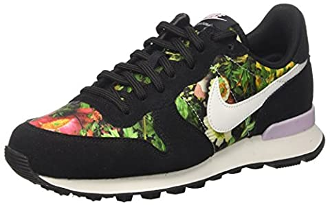 Nike Damen W Internationalist Prm Turnschuhe, Schwarz (Black/Summit White/Prism Pink),