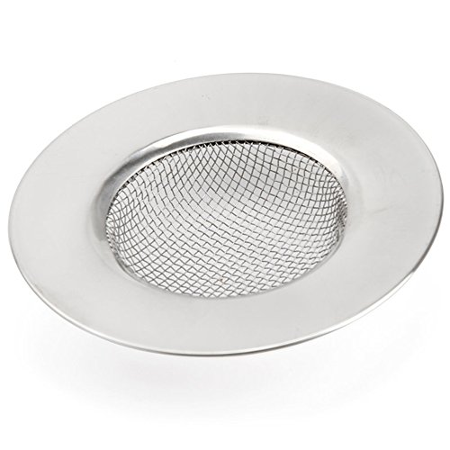 Abflusssieb, Edelstahl, 7,5cm Mesh Net Spüle Ablauf Sieb Filter Abfall Stecker