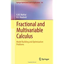 Fractional and Multivariable Calculus: Model Building and Optimization Problems (Springer Optimization and Its Applications)