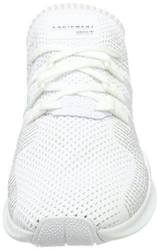 adidas EQT Support ADV Primeknit, Scarpe da Ginnastica Basse Uomo Bianco (Footwear White/sub Green)