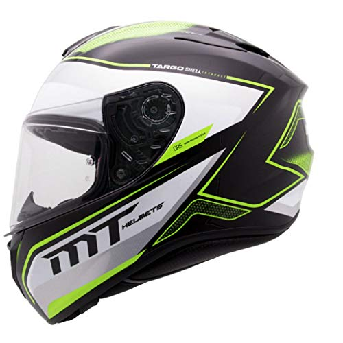 ZJJ Helm- Multi-Color und Multi-Size-Helm, Regen- und UV-Schutzhelm, transparente Linse (Farbe : Gelb, größe : XL)