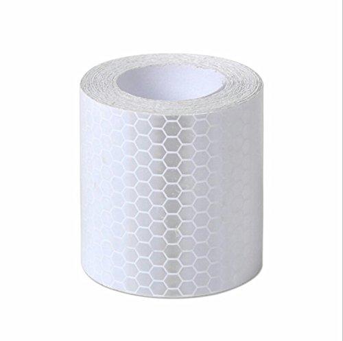 Haute Intensit/é Autocollant Ruban R/éfl/échissant Vinyle Auto-adh/ésif 5cm x 3m