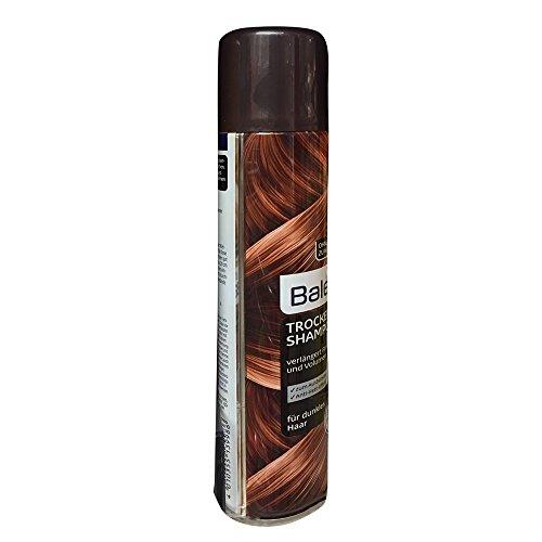Balea Trocken Shampoo verlängert Frische und Volumen für dunkles Haar (200ml Spray)