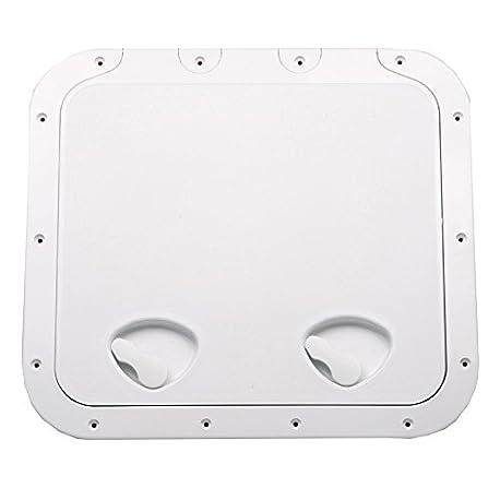 Puerta de quipet ABS anti UV tornillo apparentes 517 x 463 mm 416 X 362 Mm