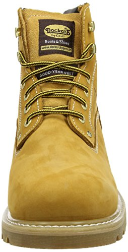 Dockers by Gerli 23DA004-400460 Herren Combat Boots Gelb (Golden Tan 910)