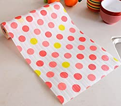 Generic Waterproof table Floral Pattern drawer wardrobe mat Non-Slip Placemat for kitchen accessories decoration home 500X30CM /300X30CM 500X30CM