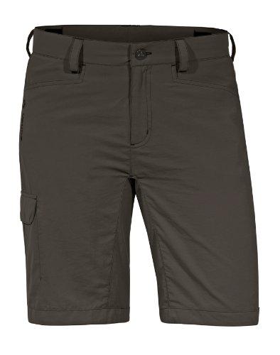 VAUDE women's pantalon lauca short pour femme Marron - Vert kaki