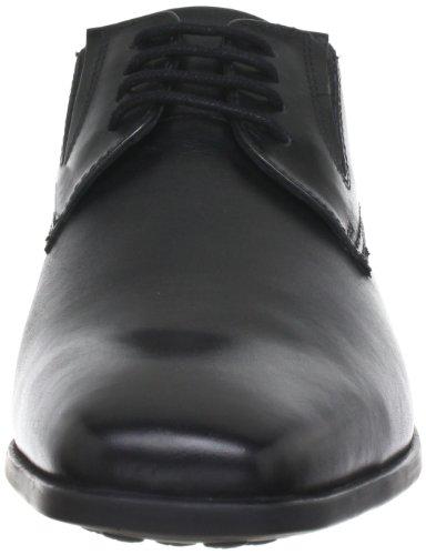 Bugatti - U53011, Scarpe stringate basse brogue Uomo Nero (Schwarz)