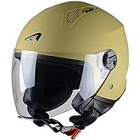 Astone Helmets Mini Jet Army Casco Jet, color Beige Desert, talla S