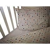 Ropa de cama bebé/Infantil niños y niñas de 3 piezas para cuna 120x 60