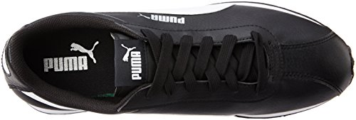 Puma Supergoal, Baskets Basses homme Noir (Black/White)