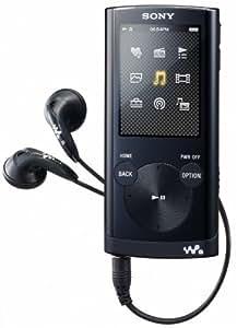 """Sony NWZE354B Lecteur mp3 Écran 2"""" Radio FM 8 Go Noir"""