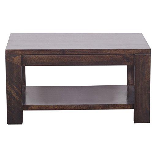Altavista Luna Solid Wood Coffee Table (Brown)