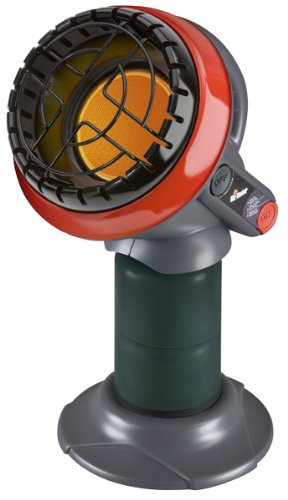 Mr Heater Heater BaseCamp Little Buddy Indoor-Safe Propane Heater, MH4B