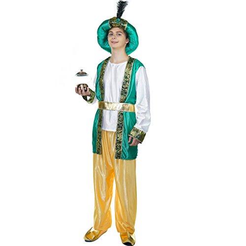 Kostüm Mann Arabische - Sea Hare Erwachsene Männer Alabian arabischen Kostüm Karneval