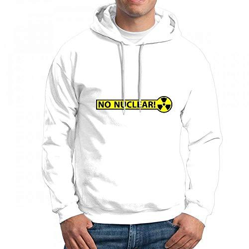 ruziniujidiangongsi Custom No Nuclear Men's Pullover Logo Hoodie Custom Sweater