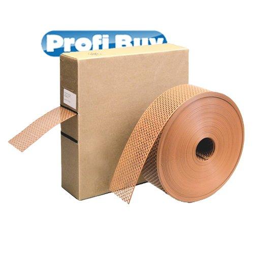 Schutzgitter PVC - Profirolle | 50MM x 60MTR | Verschiedene Farben lieferbar! (Braun)