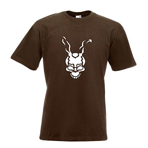 KIWISTAR - Frank T-Shirt in 15 verschiedenen Farben - Herren Funshirt bedruckt Design Sprüche Spruch Motive Oberteil Baumwolle Print Größe S M L XL XXL Chocolate