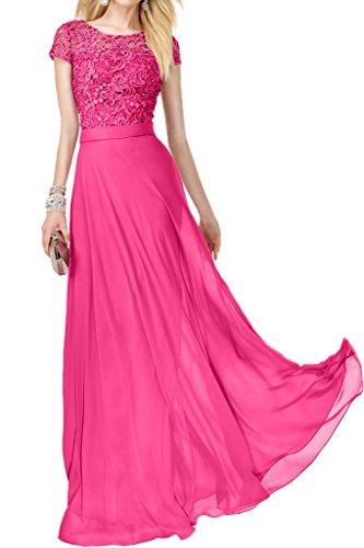 Victory bridal cœur en chiffon élégante abendkleider promkleider ballkleider brautjungfernkleider rose bonbon