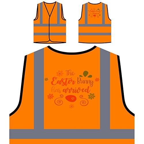 Personalisierte High Visibility Orange Sicherheitsjacke Weste s303vo ()