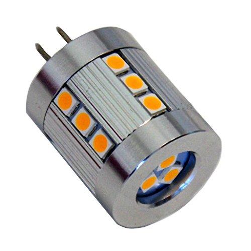 G4 LED 360Lumen 3W 12V warmweiss 3000K 21x 2835LED brandneue Generation auch für Wohnmobil geeignet (10V-30V) (12 V Wohnmobil-leuchten)