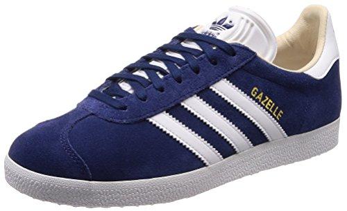 adidas Damen Gazelle Fitnessschuhe, Blau (Indnob/Ftwbla/Lino 000), 37 1/3 EU