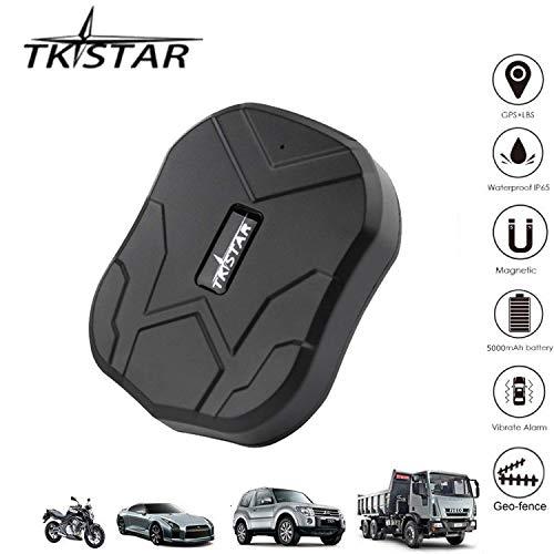 TKSTAR905 Localizador GPS para vehículos, Tiempo Real Seguimiento GPS/gsm/GPRS/SMS Coche Motocicleta Bicicleta...