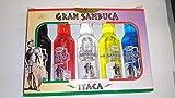Cofre de minis Sambuca Itaca 5X40ml 38& Alchol