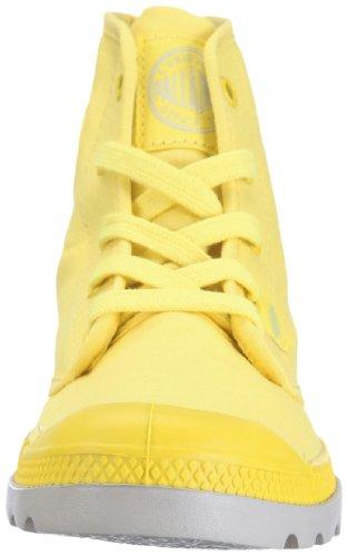 Palladium PAMPA HI LITE Pampa Hi Lite, Chaussures basses femme Jaune (B.Yellow/Vapor)