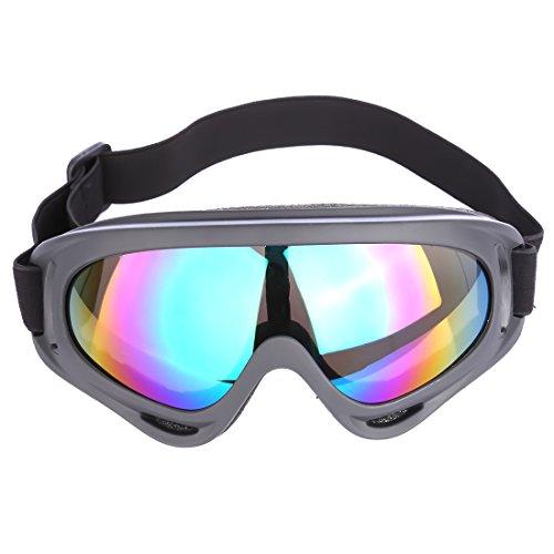 Schutzbrille, Likecom Klassischer Stil Vollschutzbrille Vollsichtbrille Augenschutz Arbeitsbrille for nerf (Bunt)