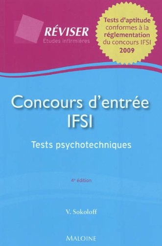 Concours d'entrée IFSI : Tests psychotechniques