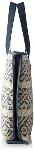 PIECES Damen Pcsamantha Bag Henkeltasche, 10 x 46 x 38 cm Mehrfarbig (Flint Stone)
