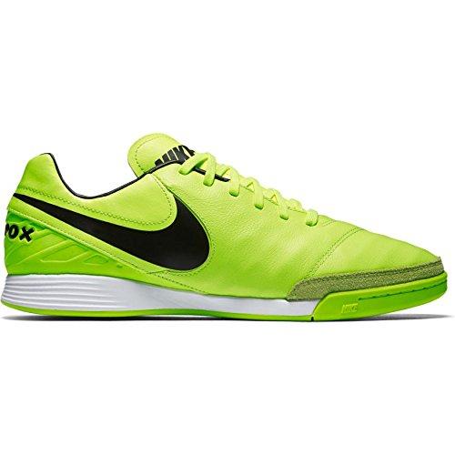 Nike tiem Pox Mystic V IC Sala Guantes, amarillo / negro